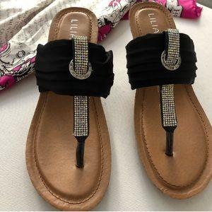 Thong Wedge Fashion Sandals Cork Platform Shoes